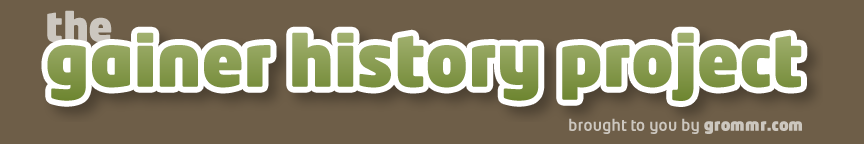 Gainer History Project by Grommr